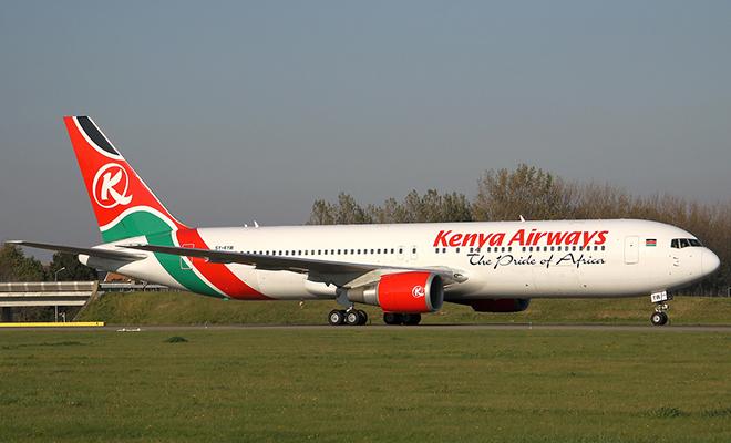 Kenya Airways a enregistré des pertes de 134 millions $.