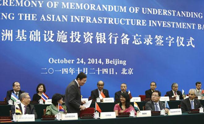 L'AIIB donne l'espoir aux pays soucieux de se doter des infrastructures.